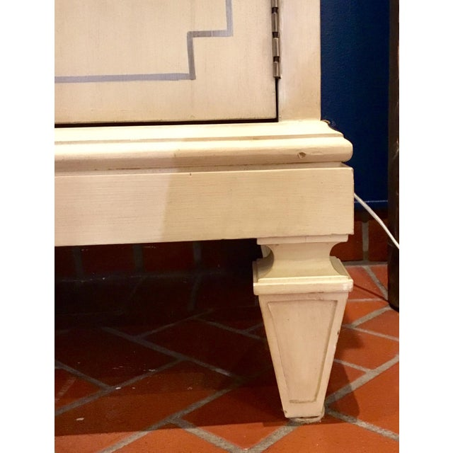Transitional Lilian for Hickory White Wood Foster Server For Sale - Image 10 of 11