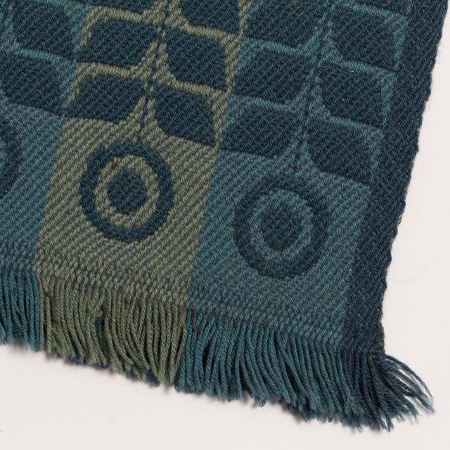 Flat Weave Scandinavian Rug-1960's For Sale - Image 4 of 4