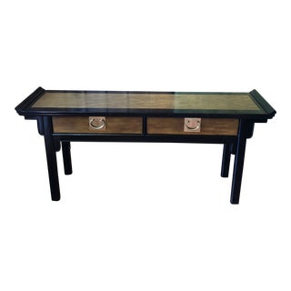 Century Furniture Chin Hua Chinoiserie Asian Altar Console Table For Sale