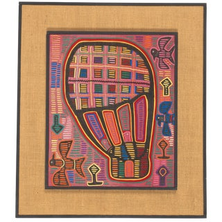 1960s Mola Textiles Art of the Cuna Indians For Sale