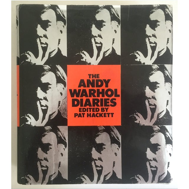 "Vintage 1989 ""The Andy Warhol Diaries"" Rare 1st Edtn Collector Memoirs Book - Image 2 of 11"