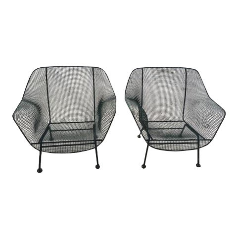 Woodard Sculptura 1950s Chairs - A Pair - Image 1 of 5