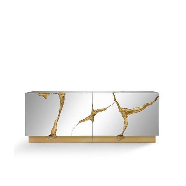 Aesthetic Movement Lapiaz Credenza From Covet Paris For Sale - Image 3 of 3