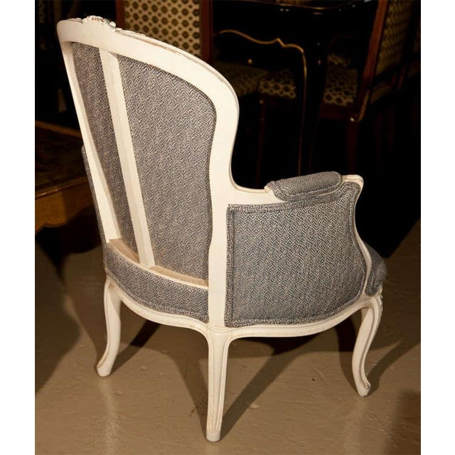 French Duchesse Brisee Bergere Chairs - Set of 3 For Sale - Image 7 of 7