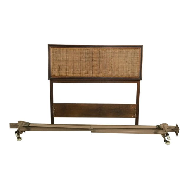 Midcentury Modern Twin Bed Frame - Image 1 of 6