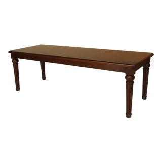 English William IV Mahogany Bench or Coffee Table For Sale