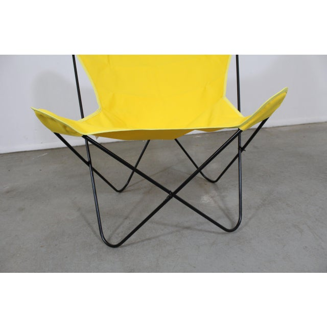 Metal Mid-Century Modern Knoll Style Iron Butterfly Chair For Sale - Image 7 of 8