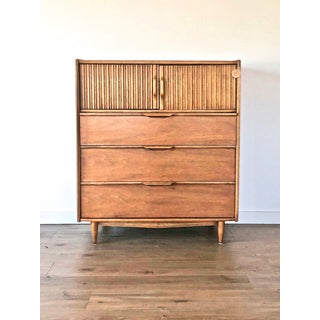 """The Cadence"" Mid-Century High Boy Dresser by Kent Coffey Preview"