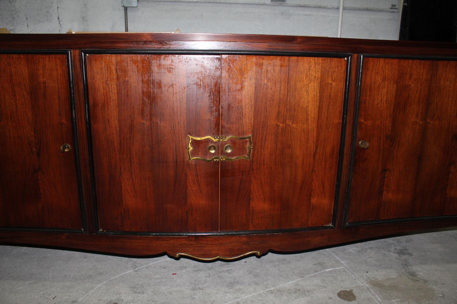 French Art Deco Palisander Rio Buffet Circa 1940 S Chairish