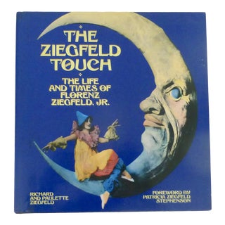 Vintage The Ziegfeld Touch Book For Sale