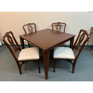 Frontgate Chippendale Folding Table + Four Chair Set Preview