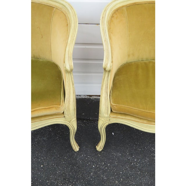 French French Burl Shape Four Side Chairs by Jamestown Lounge Co 2112 For Sale - Image 3 of 13