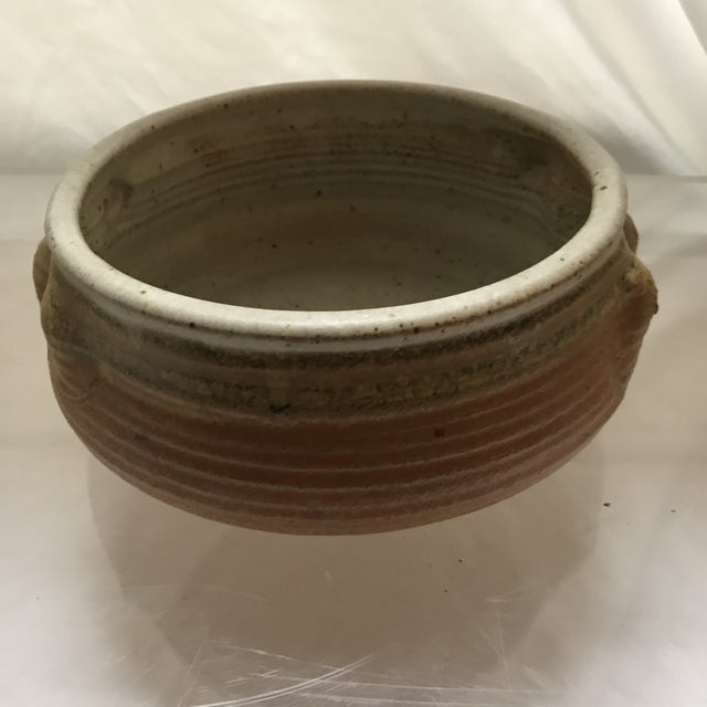 Hand Thrown Studio Pottery Bowl For Sale - Image 4 of 5
