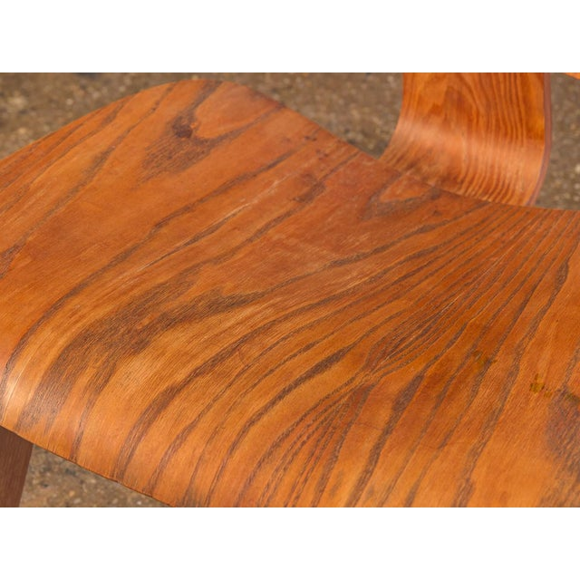 1950s Eames Ash LCW for Herman Miller Chair For Sale - Image 10 of 12