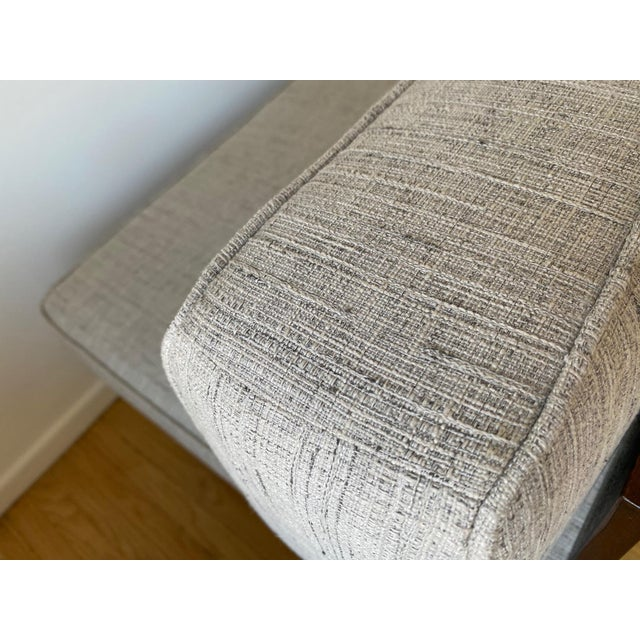 Mid-Century Gray Sofa For Sale - Image 11 of 13