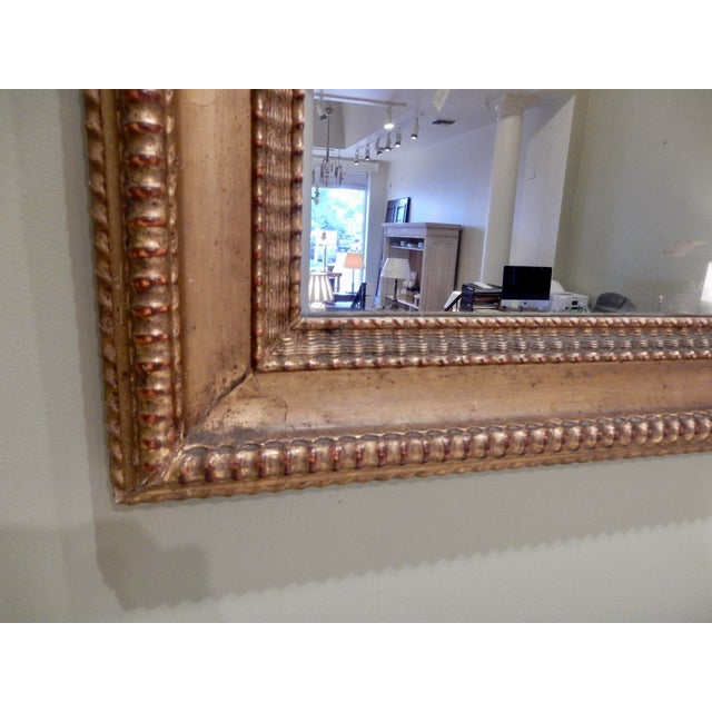French 19th Century French Charles X Gilt Mirror / Mercury Glass For Sale - Image 3 of 10