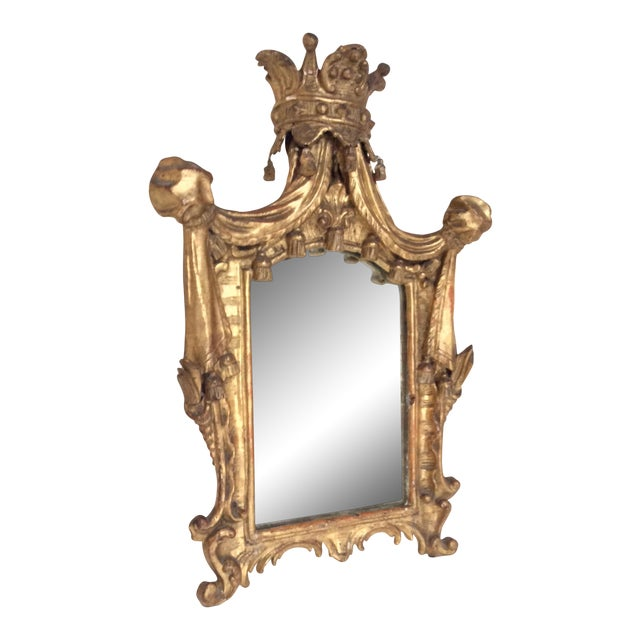 18th Century French Tassel Mirror - Image 1 of 11