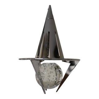 1990s Modern Carlo Nason Pendant Lamp Crystal Glass. For Sale