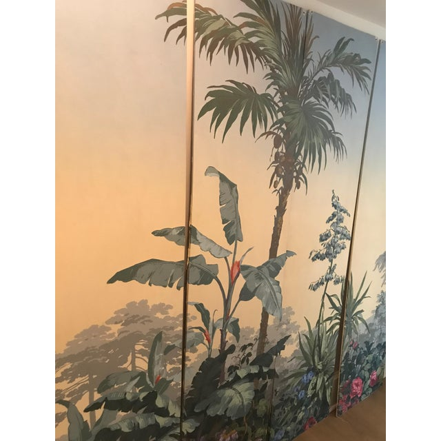 1960s Zuber Wallpaper Panels Mounted on Boards - Set of 4 For Sale - Image 5 of 12
