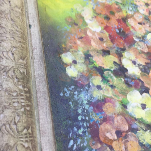 Floral Oil Painting - Image 3 of 8