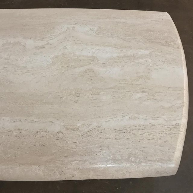 Mid-Century Limestone Coffee Table For Sale - Image 9 of 13