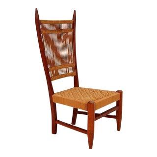 Diminutive Scandinavian Chair in Teak For Sale