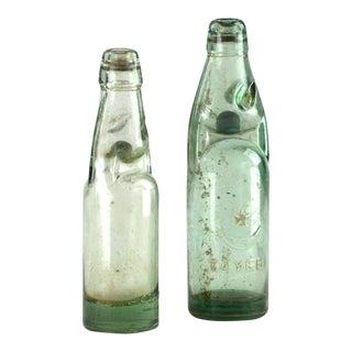 Vintage Glass Soda Bottle