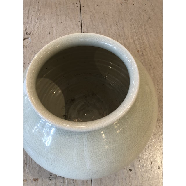 Mid-Century Modern Large Mid Century Modern Bitossi Vase Vessel For Sale - Image 3 of 8