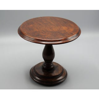 Antique English Table Top Candle Stand Preview