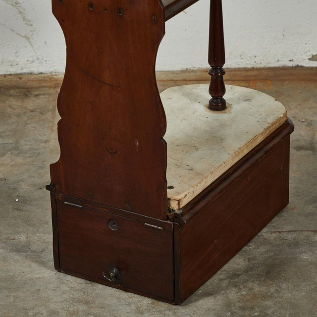 Late 19th Century English Chemist Mahogany Shelf For Sale - Image 9 of 12