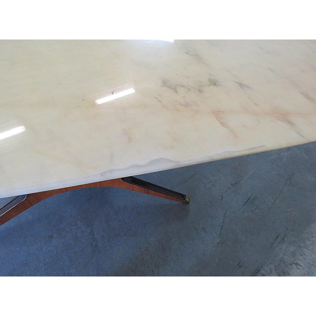 Borsani Marble Top Dining Room Table For Sale - Image 9 of 11