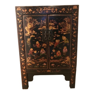 Early 20th Century Vintage Chinoiserie Cabinet For Sale