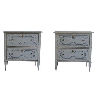 20th Century Swedish Gustavian Chests - a Pair For Sale