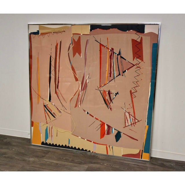 Sally Anderson Large Abstract Painting For Sale - Image 10 of 10