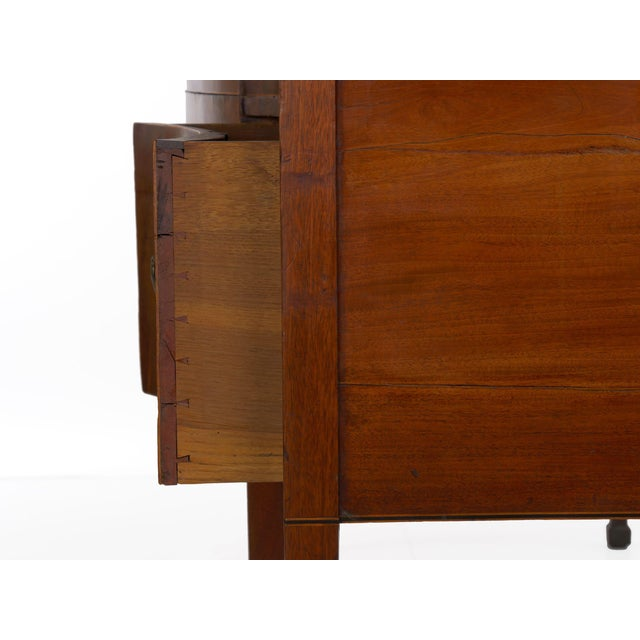 Circa 1780 English George III Period Antique Mahogany Sideboard For Sale - Image 10 of 11