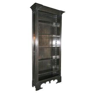 Custom Ebonized Bookcase by Adesso Studio For Sale