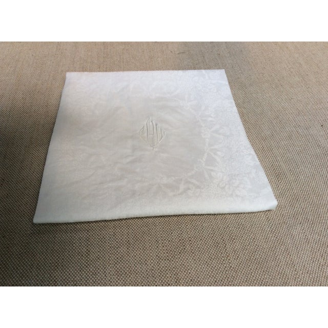French Provincial Antique French Linen Napkins - Set of 6 For Sale - Image 3 of 12