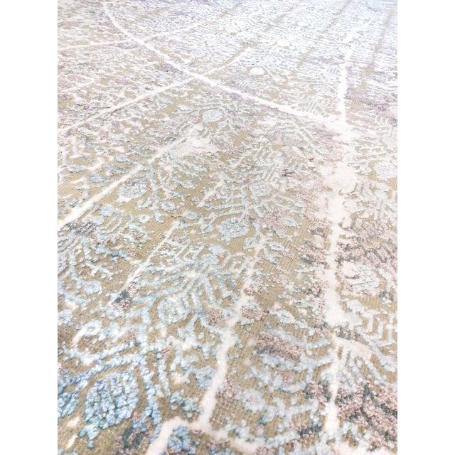 "Pasargad Transitional Silk/Wool Rug - 8' x 10' 2"" - Image 3 of 5"