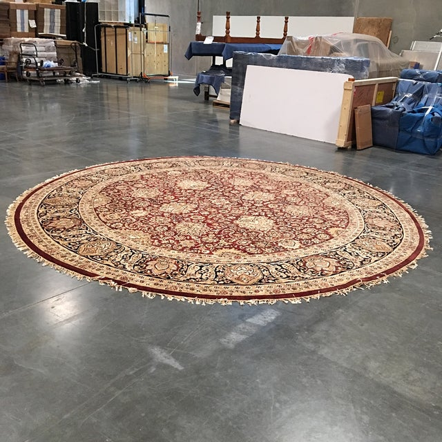 Circular Persian Rug - 14' x 14' - Image 2 of 7