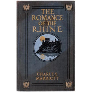 """The Romance of The Rhine"" Book by Charles Marriott For Sale"
