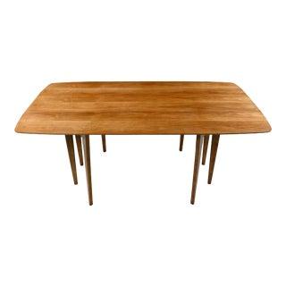 Mid-Century Modern Drexel John Van Koert Profile K43 Dropleaf Dining Table For Sale