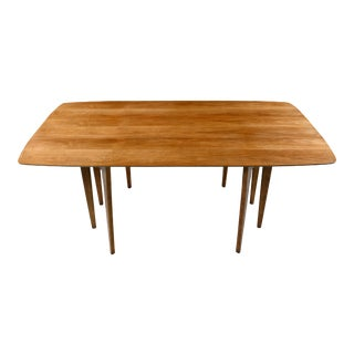 Walnut Dropleaf Dining Table - John Van Koert Mid-Century Modern Profile K43 by Drexel For Sale