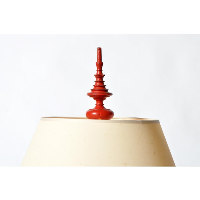 1930s Temple Offering Urn Lamp For Sale - Image 5 of 8