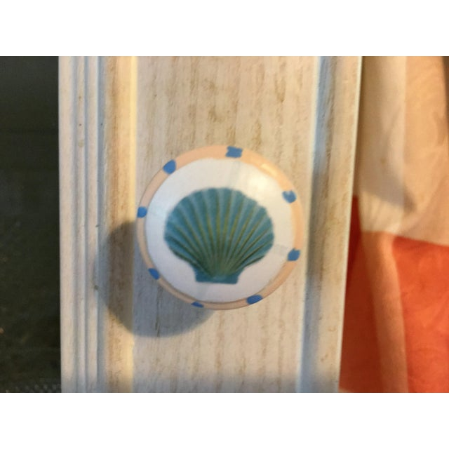 """1.25"""" hand painted decoupage knobs for furniture or cabinets. Hardwood knobs are painted with multi colors in two coats or..."""