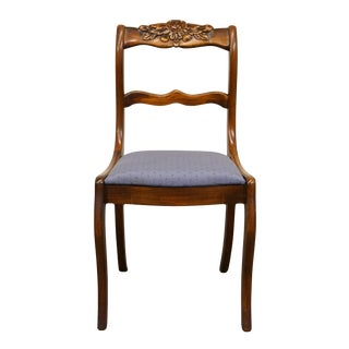 1950's Antique Vintage Duncan Phyfe Accent Side Chair For Sale