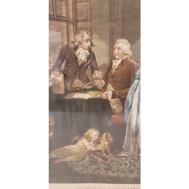Brown 18th Century George Morland Hand Colored Mezzotints Published by T. Simpson, London 1789 For Sale - Image 8 of 13