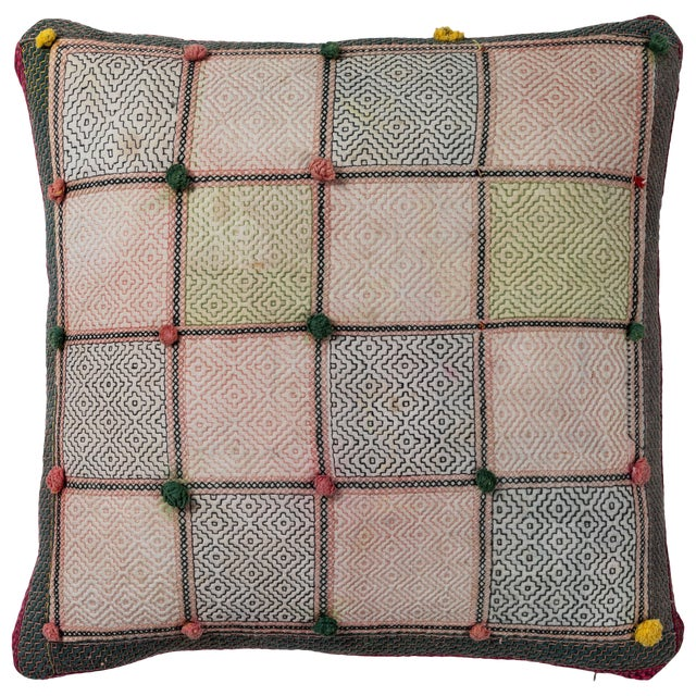 Swat Valley Embroidery Pillow For Sale