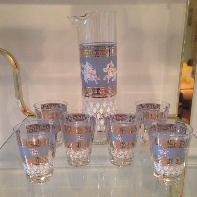 Mid-Century Greek Cocktail Glasses - Set of 6 - Image 2 of 6