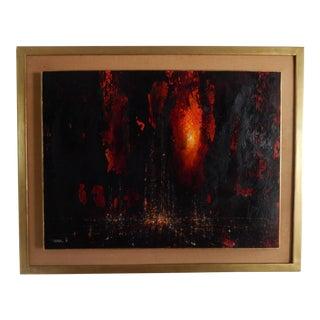 1966 Leonardo Nierman Oil Painting For Sale