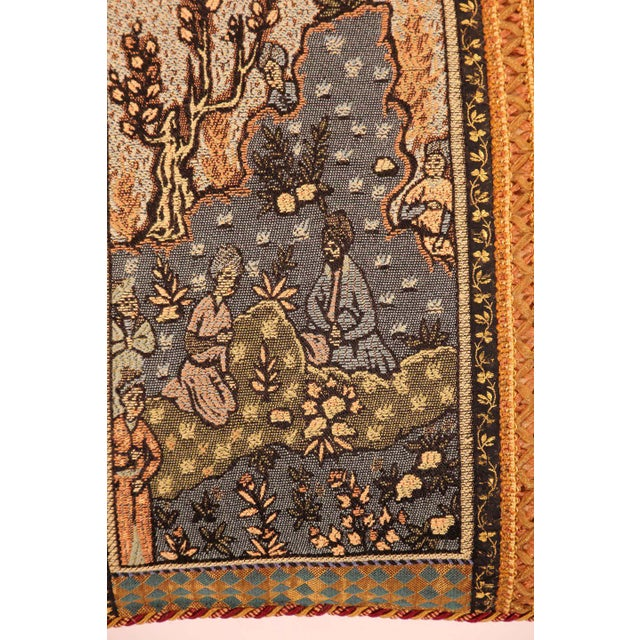 Middle Eastern Decorative Throw Pillow For Sale - Image 4 of 11